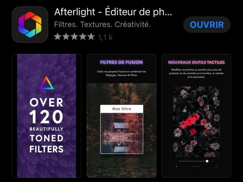 Afterlight Editeur Photo Application Alice in Digital